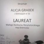 Dyplom Laureata